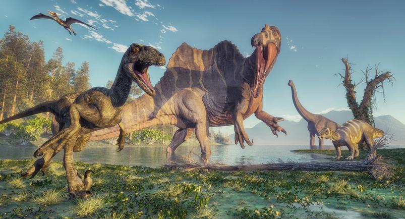 spinosaurus acuático