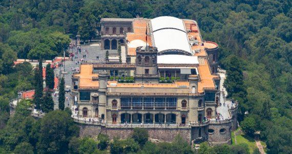 la historia del castillo de chapultepec empezó en la época de la Nueva España