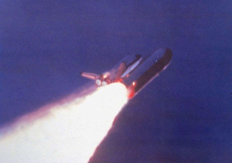 challenger transbordador espacial