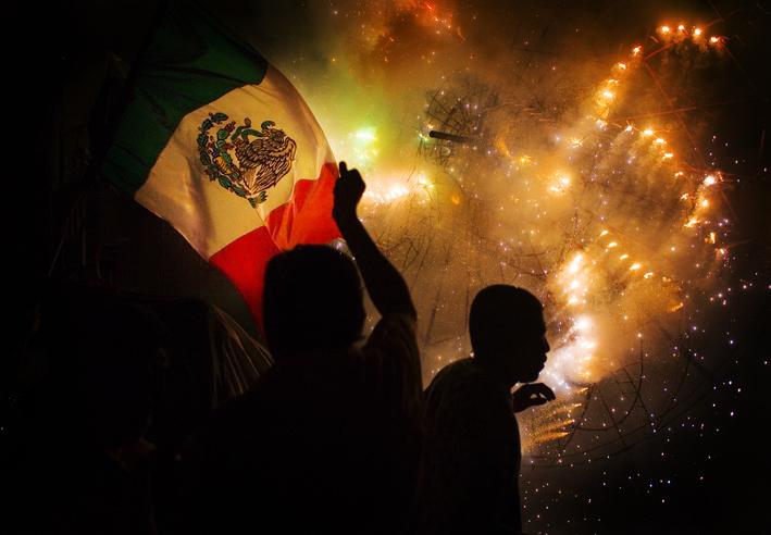 Independencia de México festejo