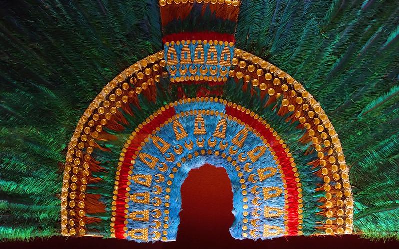Tesoros prehispánicos Penacho Moctezuma