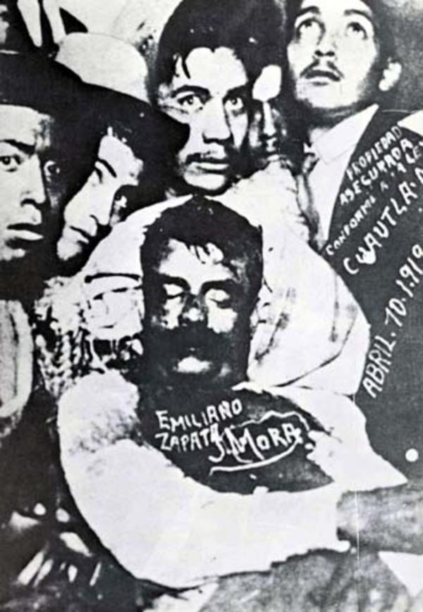 Muerte de Emiliano Zapata jefe de la Revolucion Mexicana