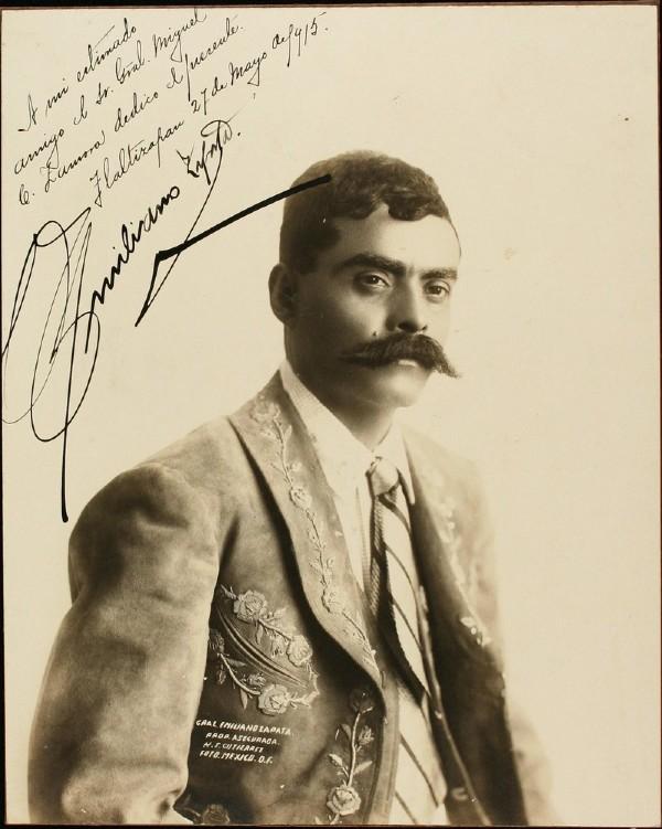 Emiliano Zapata lider campesino de la Revolucion Mexicana Revolucion Mexicana