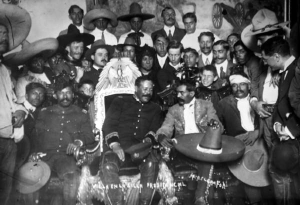 Reunion de Emiliano Zapata Y Francisco Villa