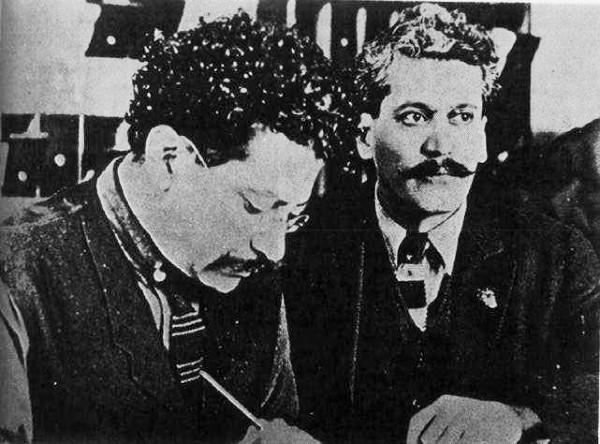 Ricardo y Enrique Flores Magon