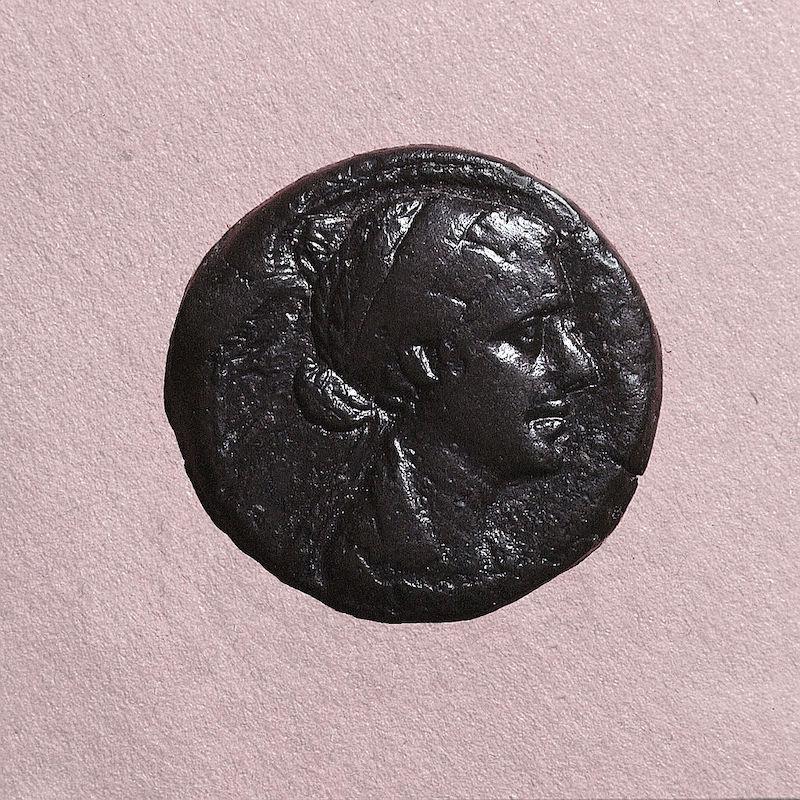 Cleopatra monedas