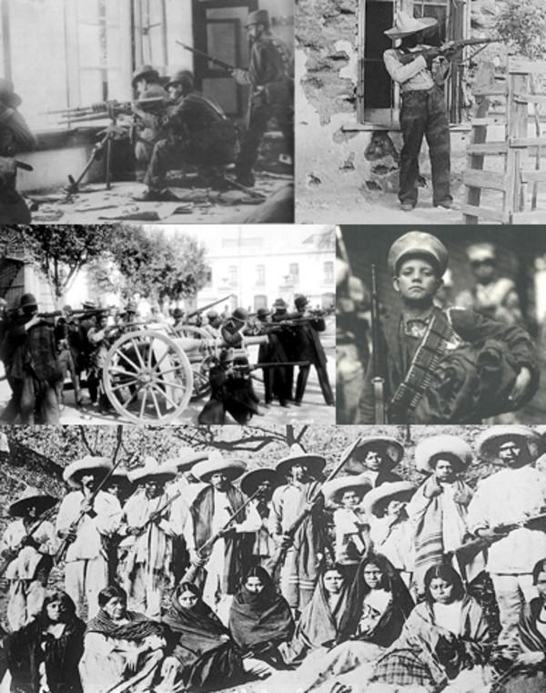 Revolucion Mexicana lucha popular anti latifundista