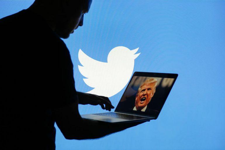 Donald Trump hacker Twitter