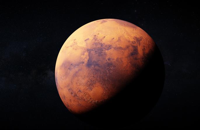 Marte fenómenos astronómicos febrero 2021