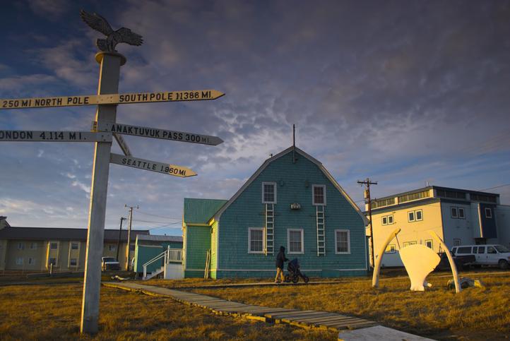Barrow Noche polar