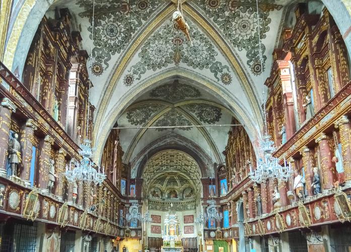 cocodrilos en iglesias