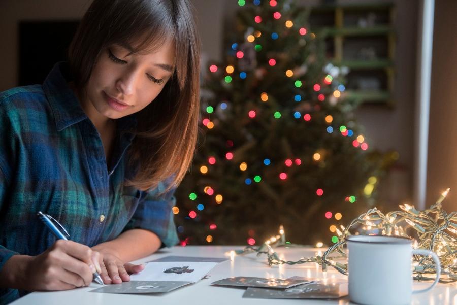 historia de las tarjetas de navidad