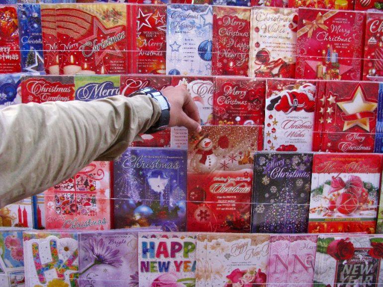 origen de las tarjetas de navidad