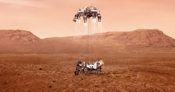 exploración espacial Marte