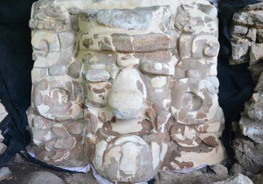 mascarón maya