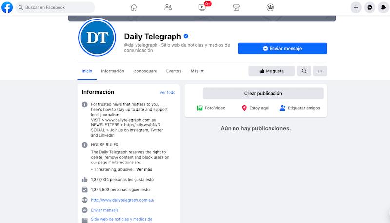 facebook bloqueo australia