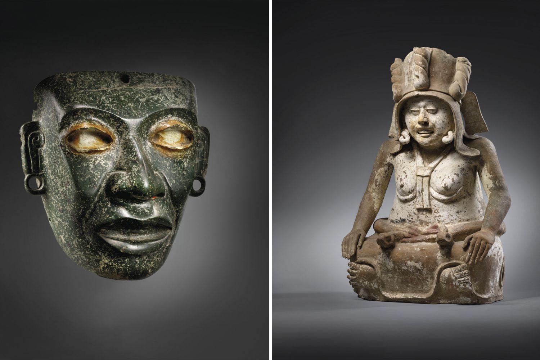 subasta de piezas arqueológicas