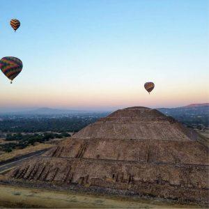 Pirámide de Teotihuacan