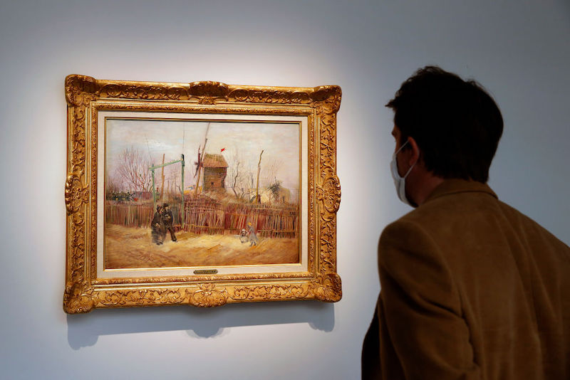 Van Gogh pintura