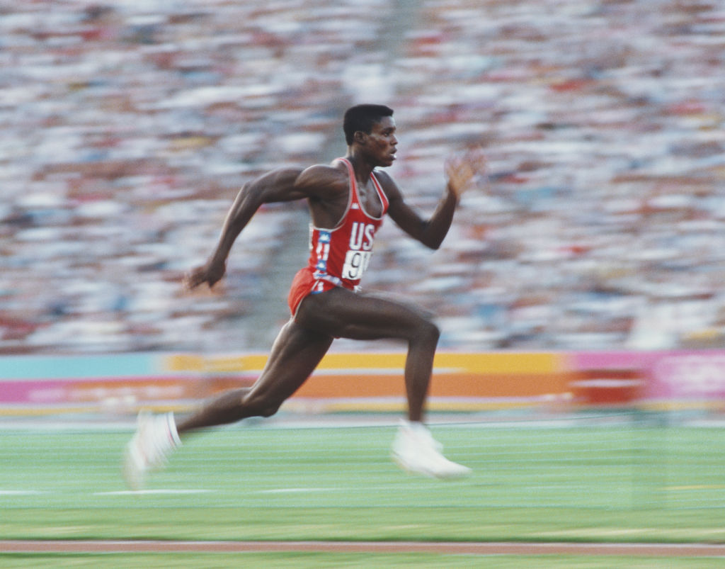 Carl Lewis en Los Angeles 1984