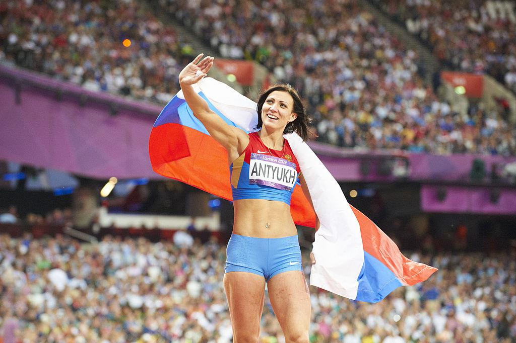 Atleta rusa