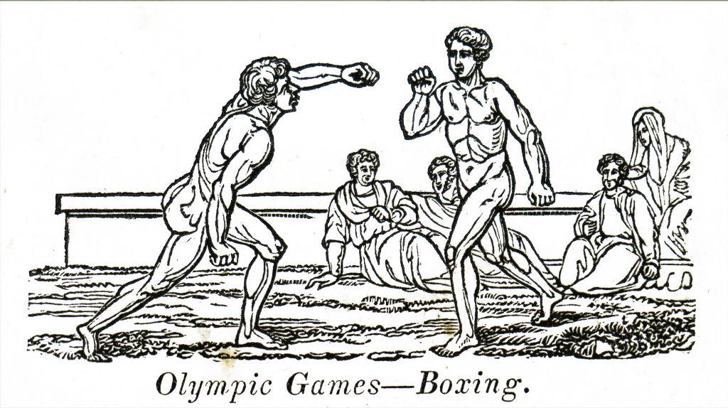 Boxeadores en los Juegos Olímpicos Antiguos