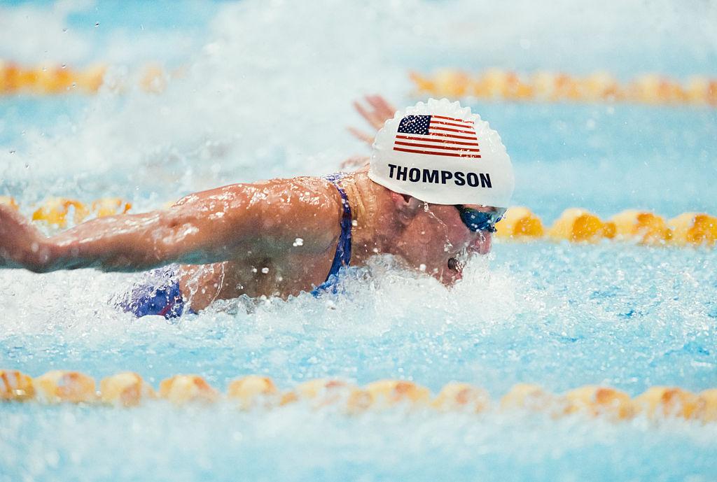 Jenny Thompson nadadora estadounidense