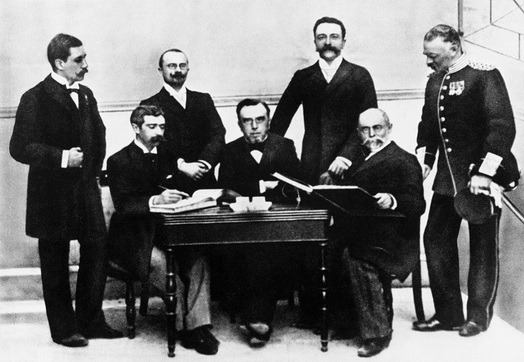 Juegos Olímpicos de Atenas 1896 comité organizador