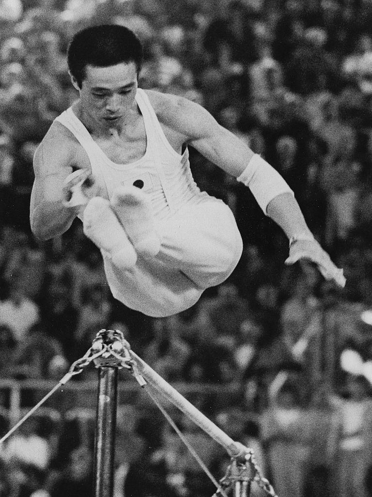 Sawao Kato gimnasta japonés