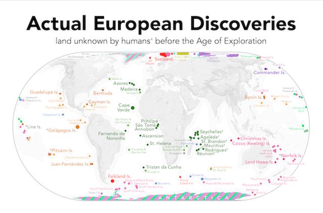 territorios descubiertos