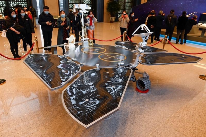 China rover Marte Zhurong
