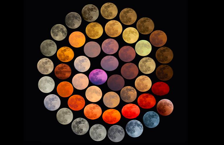 colores luna