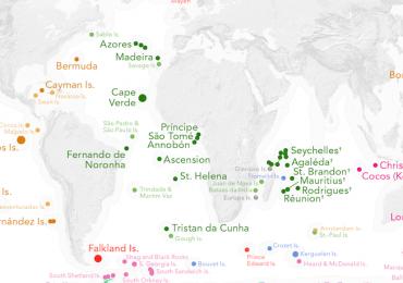 territorios descubiertos por Europa