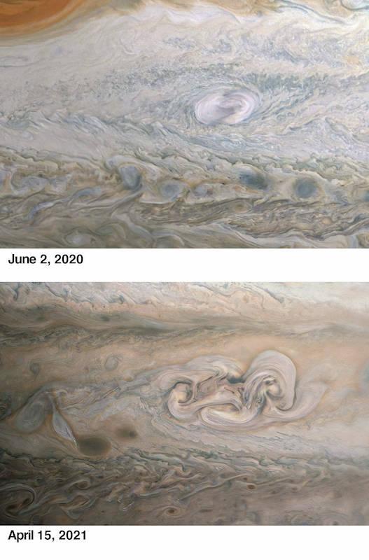 Júpiter Mancha de Clyde