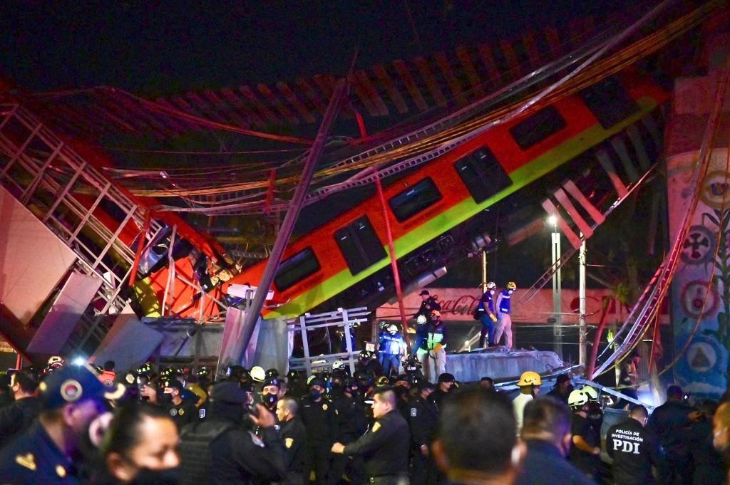 accidente Línea 12 Metro CDMX