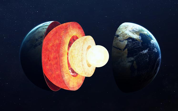 núcleo de la Tierra
