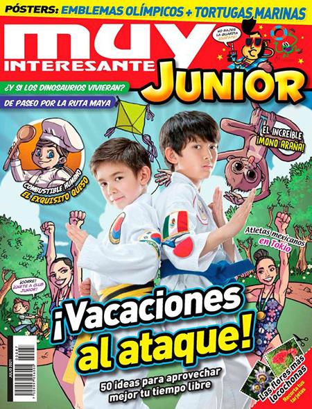 Muy Interesante Junior Spanish language magazine for kids.
