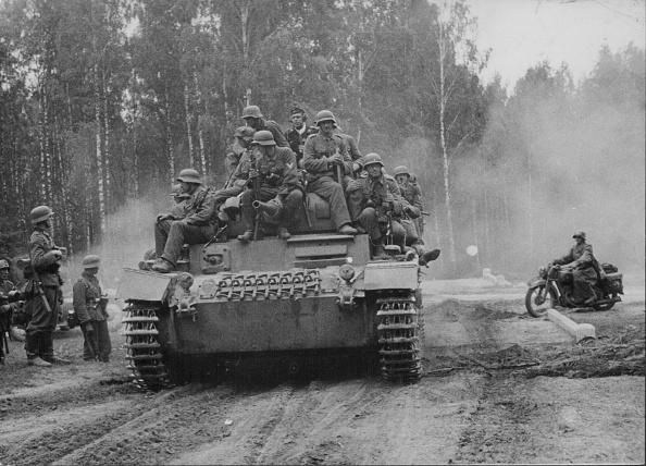 tanque de guerra nazi