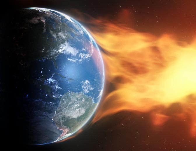 tormentas solares