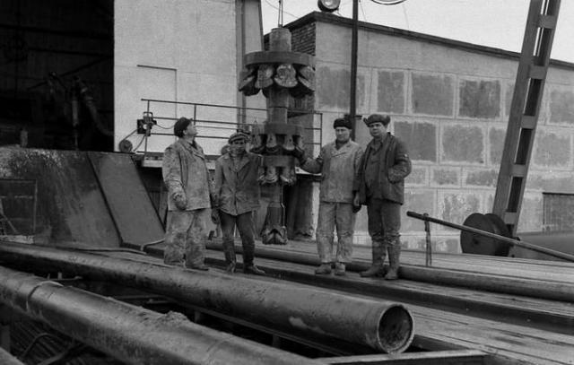 pozo de Kola URSS