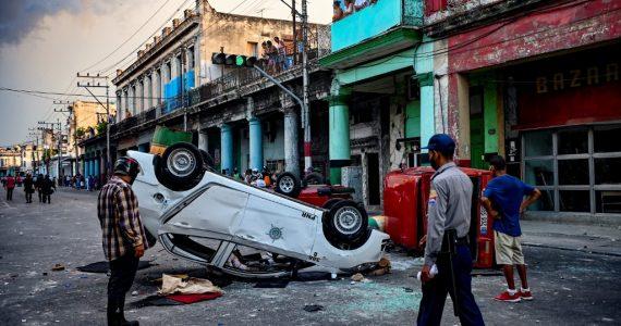 Protestas en Cuba 2021