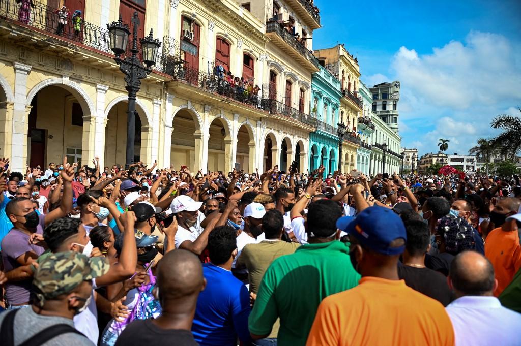 protestas bloqueo Cuba