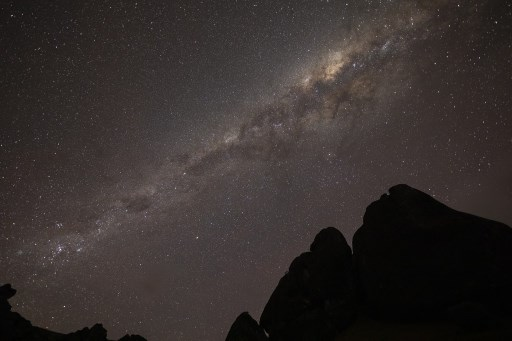 ruptura Vía Láctea