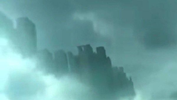 ¿Por qué apareció una ciudad flotante en China?
