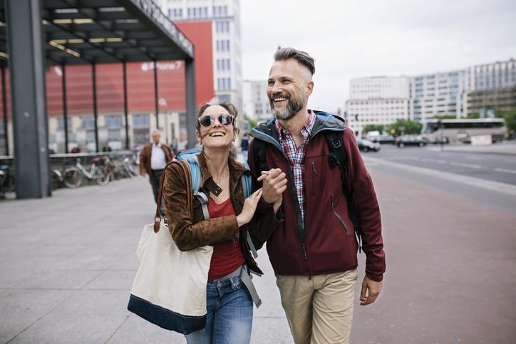 cómo se nota el amor al caminar