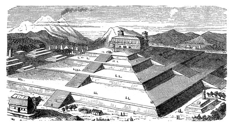 gran pirámide de cholula en puebla
