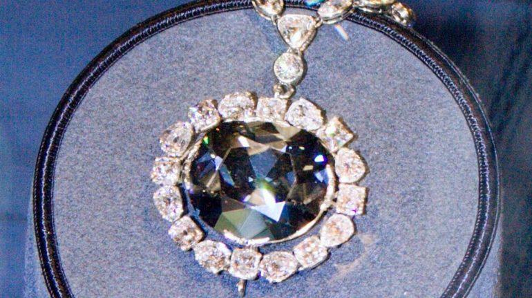 La maldición del diamante Hope
