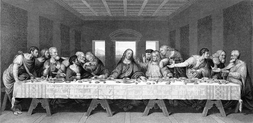 la ultima cena leonardo da vinci