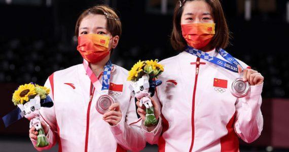 atletas china medallas