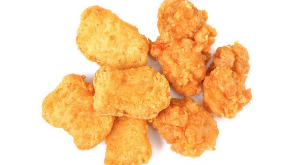Con qué parte del pollo se hacen los nuggets